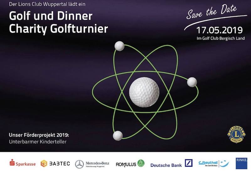 Lions Club Wuppertal Charity Golfturnier 2019