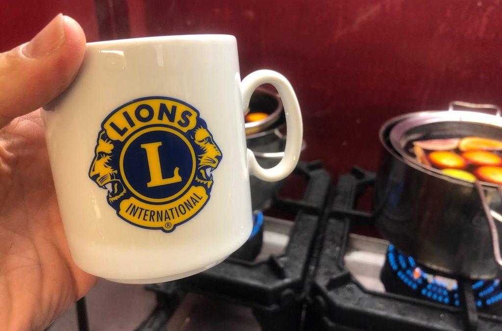 Lions Glühweinstand auf dem Elberfelder Weihnachtsmarkt 2019